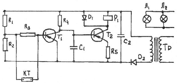 электросхема инкубатора.