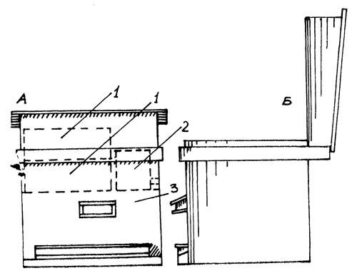 Схема 14-рамочного улья с