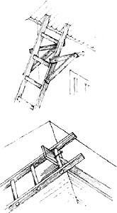 Лестница для крыши своими руками чертежи 74